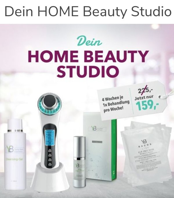 BACOS LINE HOME BEAUTY STUDIO      7-teiliges HOME BEAUTY- SET